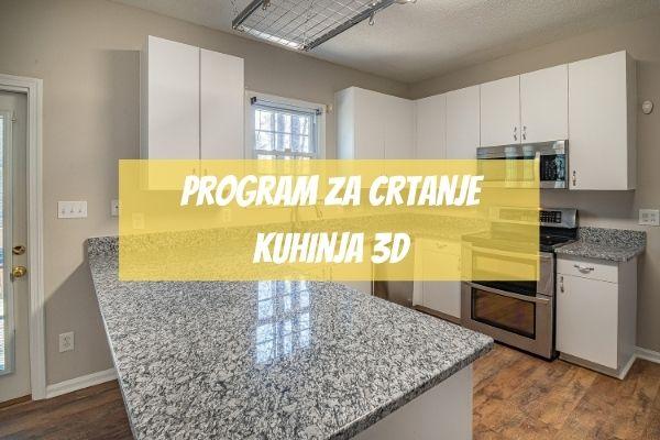 program za crtanje kuhinja 3d